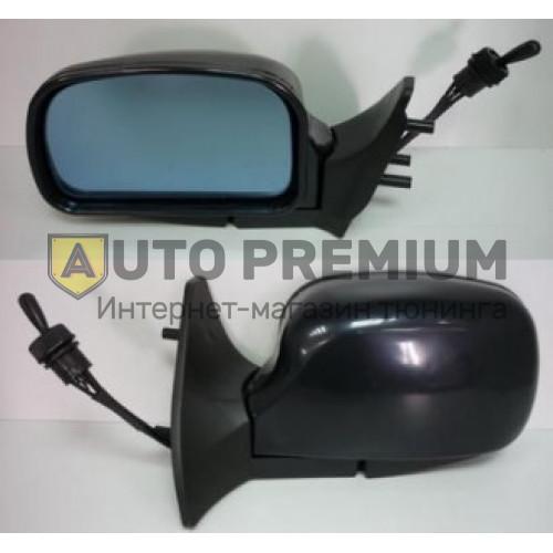 Боковые зеркала «Питер» черные с антибликом на ВАЗ 2108-15