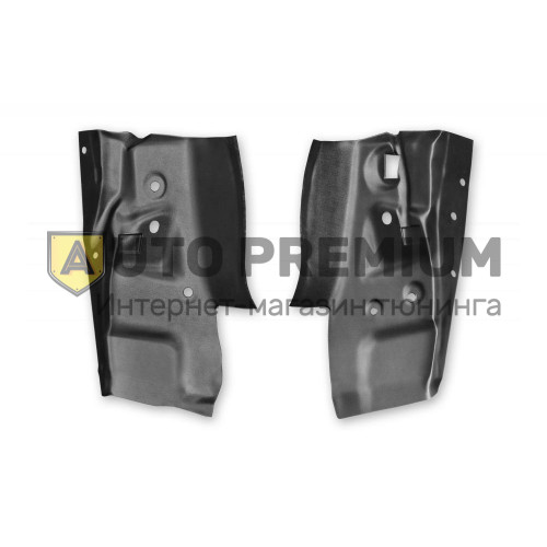 Внутренняя облицовка задних фонарей (ABS) (2шт) RENAULT Sandero с 2014